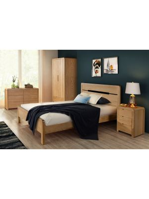 Curve King Size Bed