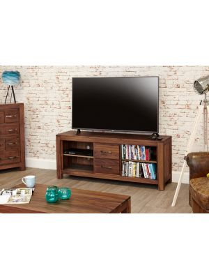 Mayan Walnut Low Television Cabinet