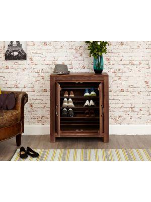 Mayan Walnut Shoe Cupboard
