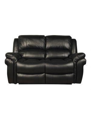 Farnham Black 2 Seater Sofa