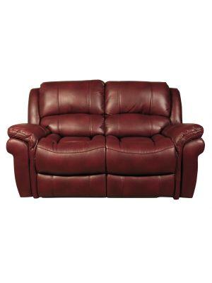 Farnham Burgundy 2 Seater Sofa