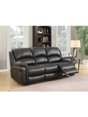 Farnham Black 3 Seater Sofa