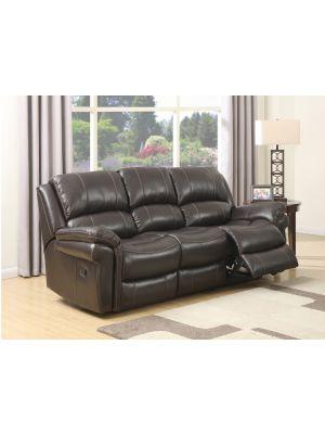 Farnham Brown 3 Seater Sofa