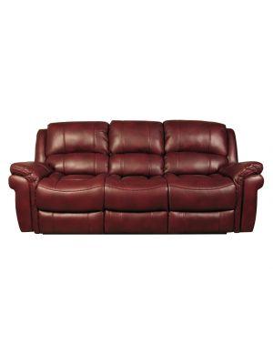 Farnham Burgundy 3 Seater Sofa