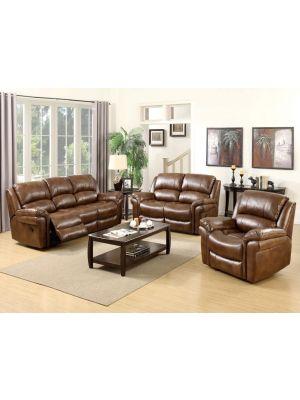 Farnham Tan 3+1+1 Sofa Suite
