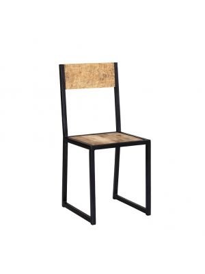 Cosmo Industrial Dining Chairs (Pair)