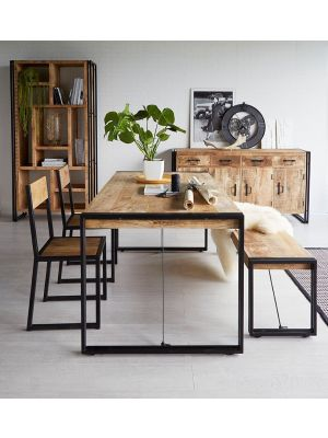 Cosmo Industrial Dining Set
