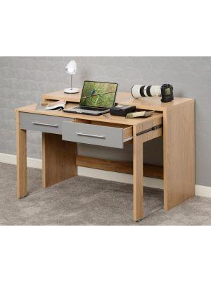 Seville Grey 2 Drawer Desk