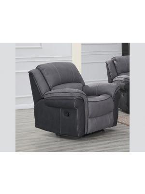 Kingston Grey Fusion 1 Seater Sofa