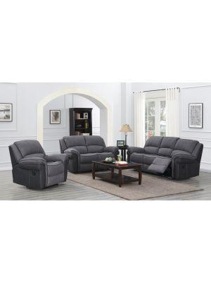 Kingston Grey Fusion 2 Seater Sofa