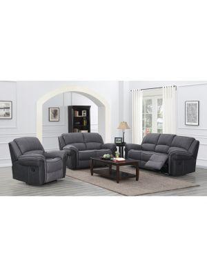 Kingston Grey Fusion 3 Seater Sofa