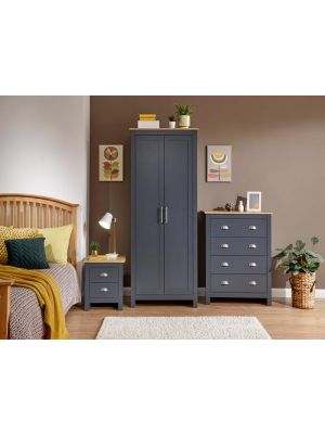Lancaster Slate Blue Bedroom Set