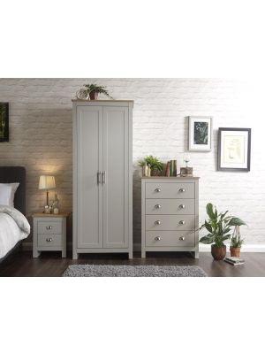 Lancaster Grey Bedroom Set