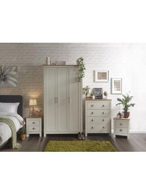 Lancaster Cream 4 Piece Bedroom Set
