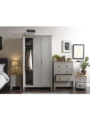 Lancaster Grey 4 Piece Bedroom Set