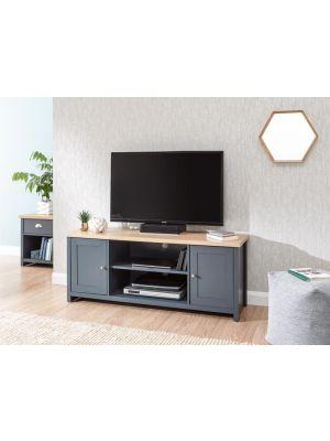 Lancaster Slate Blue Large TV Cabinet