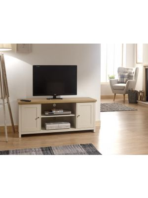 Lancaster Cream Large TV Cabinet