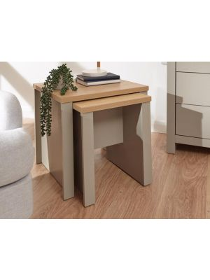 Lancaster Grey Nesting Tables