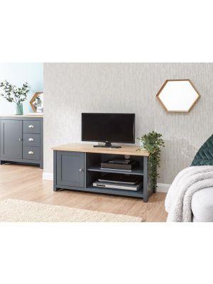 Lancaster Slate Blue Small TV Cabinet