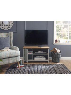 Lancaster Grey Small TV Cabinet