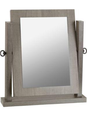 Lisbon Black Grain Dressing Table Mirror
