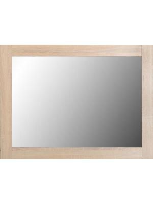 Lisbon Mirror in Light Oak