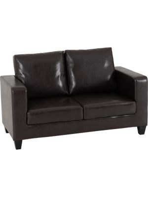 Lucy Brown 2 Seater Sofa