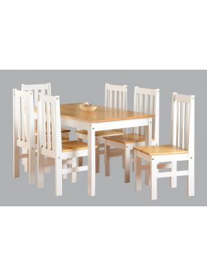 Ludlow Large White Dining Set
