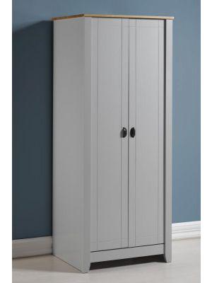 Ludlow Grey 2 Door Wardrobe