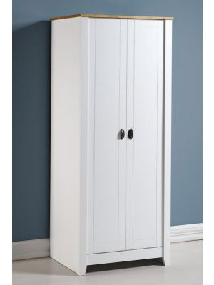 Ludlow White 2 Door Wardrobe