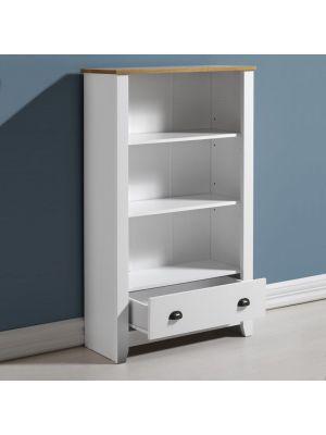 Ludlow White Bookcase