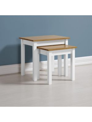 Ludlow White Nest of Tables