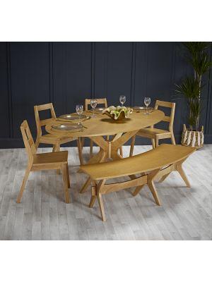 Malmo Bench Dining Set