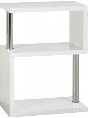Charisma White 3 Shelf Unit