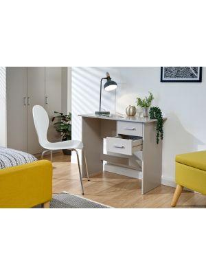 Panama Classic 2 Drawer Desk in Grey