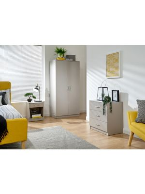 Panama Classic 3 Piece Bedroom Set in Grey