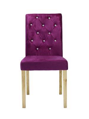 Paris Crushed Velvet Chairs (Pair)