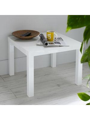 Puro White End Table