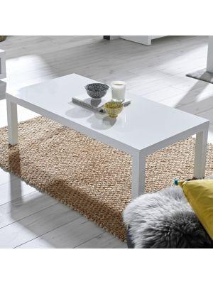 Puro White Coffee Table