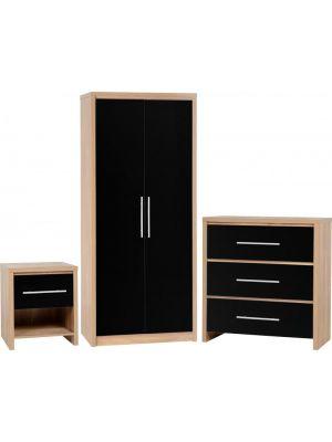 Seville Black Bedroom Set