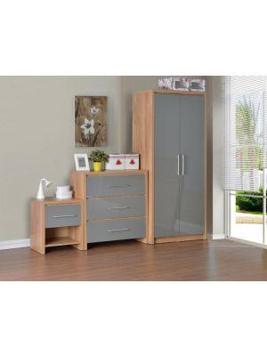Seville Grey Bedroom Set